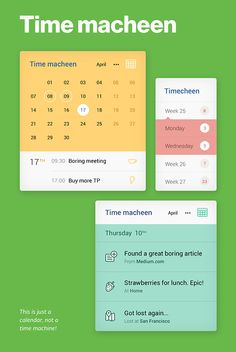 Just another UI Kit by Unity, via Behance