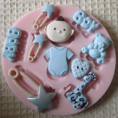 3D BOY BABY Toy Silicone Mold Fondant Molds Sugar Craft Tools Chocolate Mould  For Cakes – USD $ 4.99