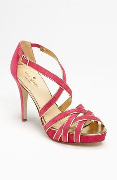 It's pretty, pink, and reasonably walkable. Kate Spade new york 'ginger' sandal