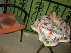 carpeta y cojin