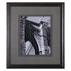 Art Effects Bridges Of NYC III Framed Wall Art - Q16824