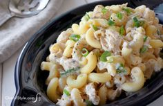 Tasty tuna macaroni salad recipe in 4 simple steps