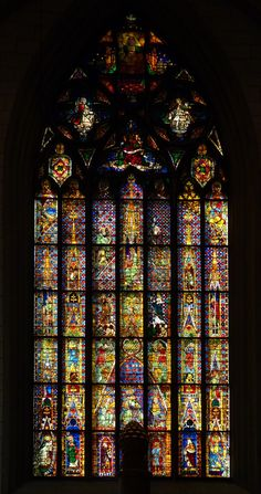 Germany's cathedral is thought to house the world's oldest stained ...