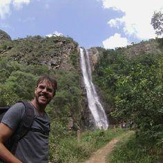 Cachoeira grande em Ipoema-MG