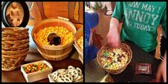 Walk like an Egyptian….Party! Popcorn bar with toppings