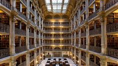America's most beautiful college libraries
