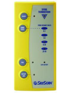 Deluxe Lightning Detector