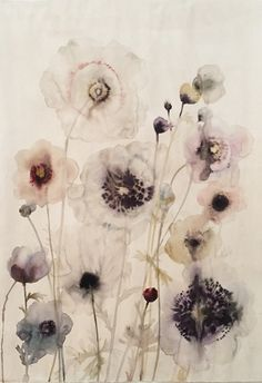 Floral 2 | Lourdes Sanchez. From a unique collection of mixed media at https://www.1stdibs.com/art/mixed-media/
