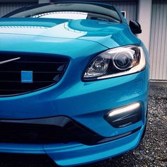 #VolvoMoment featuring a close-up on the new #V60 #Polestar. Photo by @ringli, Schaffhausen, Switzerland.