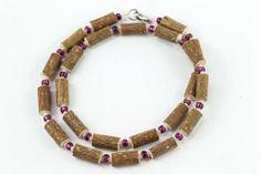 Women Hazel Necklace - plum/tender pink - Healing Hazel Ankle Bracelets, Beaded Bracelets, Necklaces, Plum, Healing, Jewelry, Women, Fashion, Moda