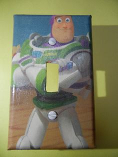Toy Story Buzz Lightyear Light Switch Plate Cover kids room home decor