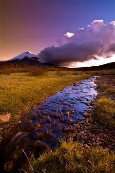 Cotopaxi Sunset by Fernando Salas on 500px