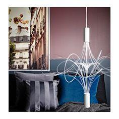 """LVSBYN LED chandelier white"