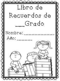 END OF THE YEAR MEMORY BOOK - SPANISH - TeachersPayTeachers.com