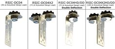 Soundproofing and Sound Isolation Products - Products - (RSIC-DC04®) Dropped Resilient Ceiling