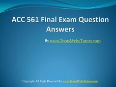 Final Exams, Finals, How To Remove