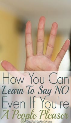Do you wish you could learn to say 'no' without explaining yourself? It is possible! These four tips helped me kick my people pleaser habits to the curb!