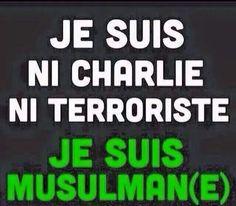 l am a muslem l'm not a terrorist  l'm not charli l respect all religeons