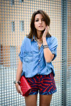 Alexandra Pereira Lovely Pepa Alysi shorts Bershka shirt Chanel Woc bag Vanessa Mooney - Sweet Bolboreta bracelets Juliet & Company necklace Shenn de Casio watch #streetstyle