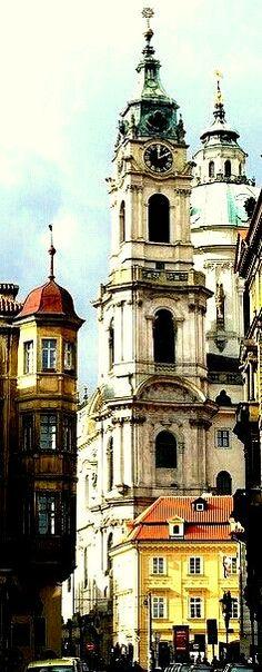 Praag - St Nicolaas kerk
