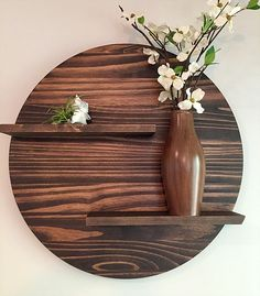 Affordable Home Decor Based in Atlanta, Ga. Christiani Modern Wood Designs Offers Hand Made Modern Furniture For The Everyday Home. Affordable Home Decor, Cheap Home Decor, Diy Home Decor, Decor Crafts, Diy Wall, Wall Decor, Room Decor, Casual Home Decor, Round Shelf