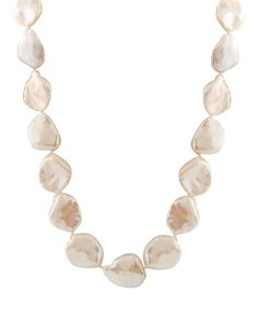 15-mm Keshi Pearl Necklace