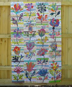 Cabbage Quilts: Flowers are Growing