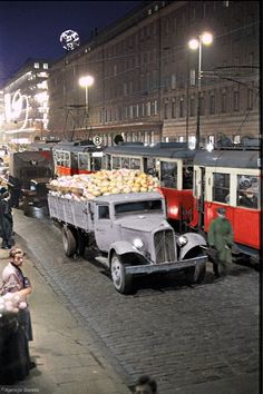 Poland People, Warsaw, Public Transport, Old Photos, City Photo, Monster Trucks, Weather, Cars, Poland
