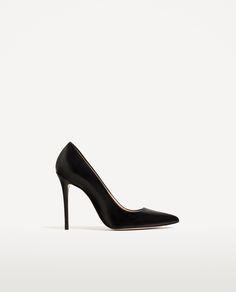 Znalezione obrazy dla zapytania zara black heels basic collection