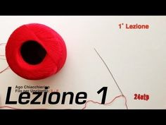 ▶ Chiacchierino Ad Ago - 1˚ Lezione Tutorial Nodo Pippiolino Come Fare Tatting Fai Da Te Bijoux DIY - YouTube