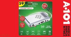 #Hometech HT 1010 uydu alıcısı 59,95TL fiyatı ile 16 Temmuz Perşembe tüm #A101 marketlerde!  Ürün Özellikleri: http://blog.hometech.com.tr/a101-ht-1010/