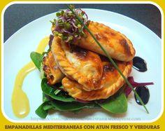 Empanadillas Mediterráneas de Atún Fresco y Verduras (con video-receta)