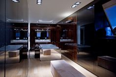 wardrobe in high gloss coromandel