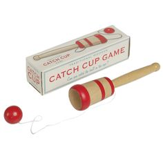 Traditional Wooden Catch Cup Game | DotComGiftShop