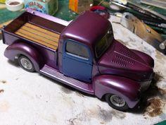 Ford Custom Pickup Truck 40s, Revell 1/24