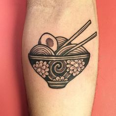 Ramen Tattoo: Rafa Decraneo.