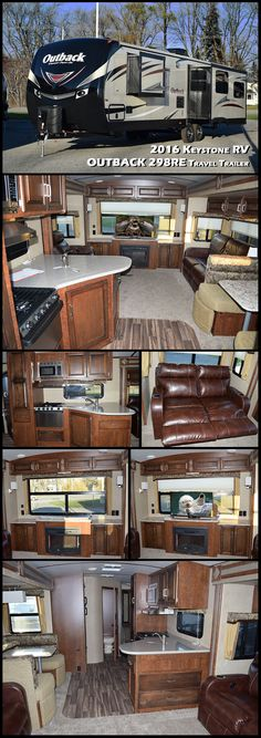 This 2016 KEYSTONE OUTBACK 298RE travel trailer offers a spacious retreat while you camp! With dual opposing slides in the rear living area, there is loads of space to relax and enjoy time with your friends and family.
