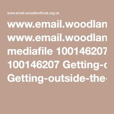 www.email.woodlandtrust.org.uk mediafile 100146207 Getting-outside-the-classroom-learning-pack.pdf