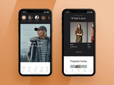 Fashion app design designed by Daniel Tkachenko. Connect with them on Dribbble; Mobile App Ui, Mobile App Design, User Interface Design, Ui Ux Design, Card Ui, App Design Inspiration, Mobile Application, Interactive Design, Travel