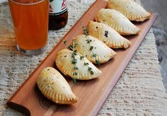 Mushroom, Gorgonzola, and Caramelized Onion Hand Pies Recipe
