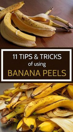 Here are a few bizarre usages of banana peels that are very effective.