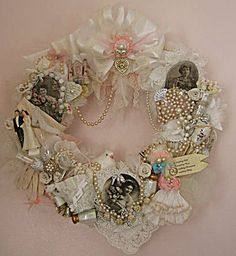 Victorian Bridal Wreath