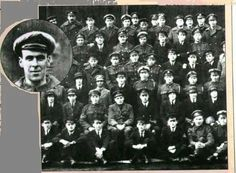 In back of the airman positioned on the top row, fourth from the left, can clearly be seen the face of another man. It is said to be the face of Freddy Jackson, an air mechanic who had been accidentally killed by an airplane propeller two days earlier.