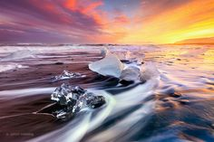 Diamond Beach ~ Iceland by Jarrod Castaing on 500px