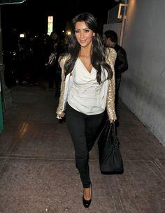 Kim Kardashian - Eva Longoria Parker & Kim Kardashian Leaving Beso Restaurant