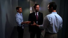 "Burn Notice 5x01 ""Company Man"" - Michael Westen (Jeffrey Donovan), Raines (Dylan Baker) & Max (Grant Show)"