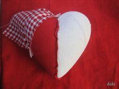 Návod na srdce z nešitého patchworku