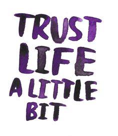 Vertrouwen.