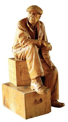 "A Great American Woodworker – Fred Cogelow One-of-a-kind carver, one-of-a-kind carvings. By Spike Carlsen An impromptu encounter with Fred Cogelow's ""Norwegian Wheelchair"" gave me a true sense of Fred as both an artist and a person. The chair itself is a thing of rare beauty, adorned with mythical Scandinavian figures, interwoven acanthus forms and intricate faces. It incorporates a swivel mechanism, reclaimed cast iron wheels and a chunky seat that …"