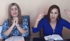 #ACTUALIDAD El video viral en el que Laura Moscoa, esposa del favorito en las elecciones de Costa Rica, predica el evangelio y habla en…
